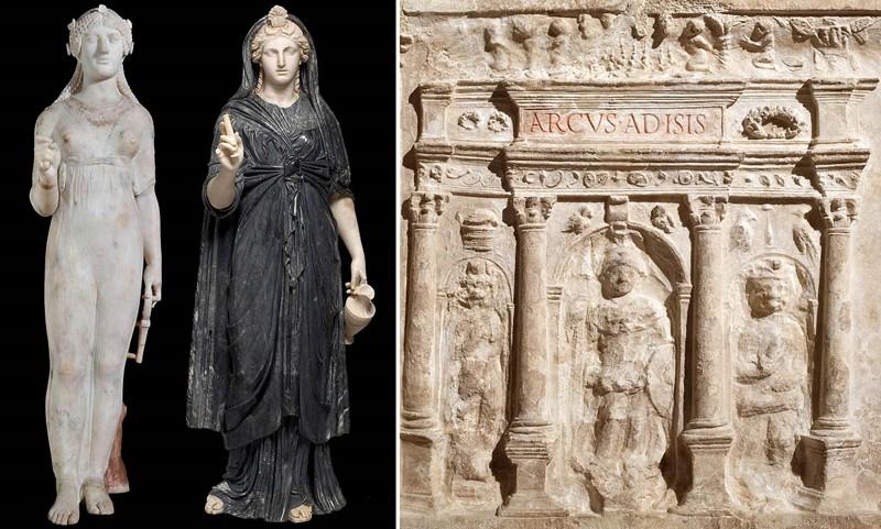 Isis de Pompeya, Roma