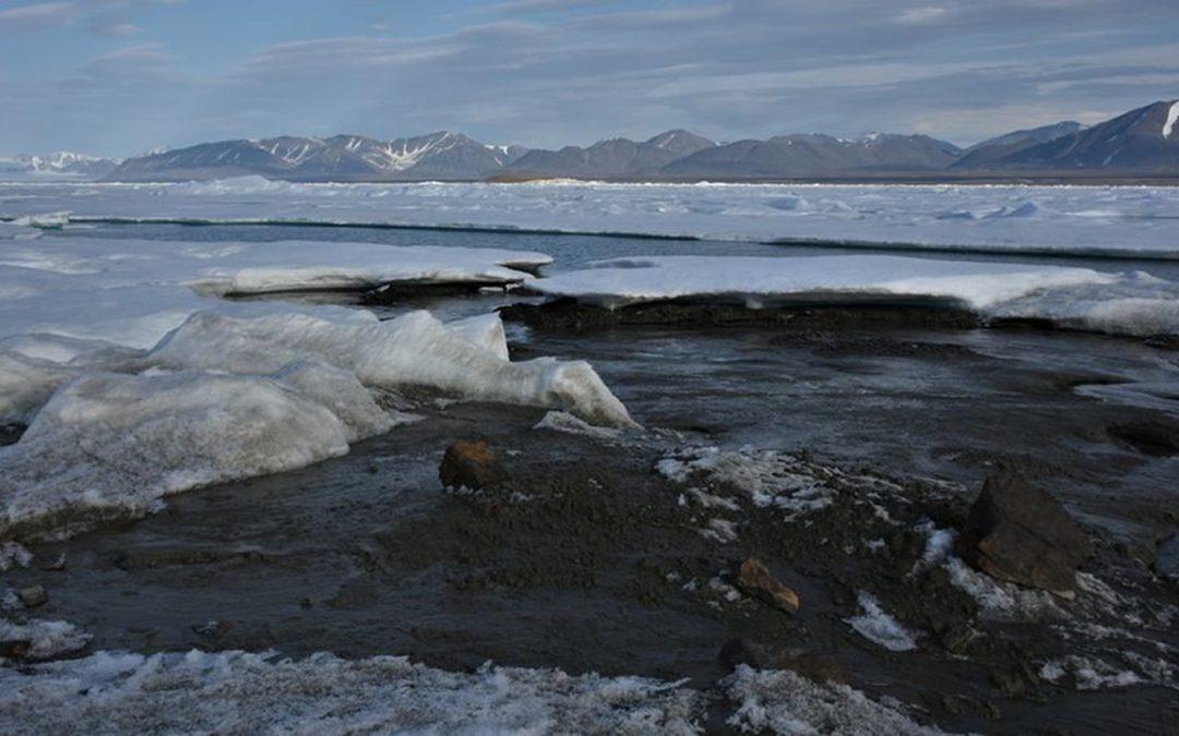 """Descubren la isla """"más al norte del mundo"""" frente a la costa de Groenlandia"""