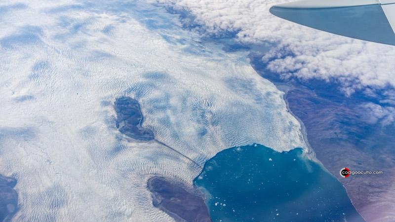 Vista de Groenlandia