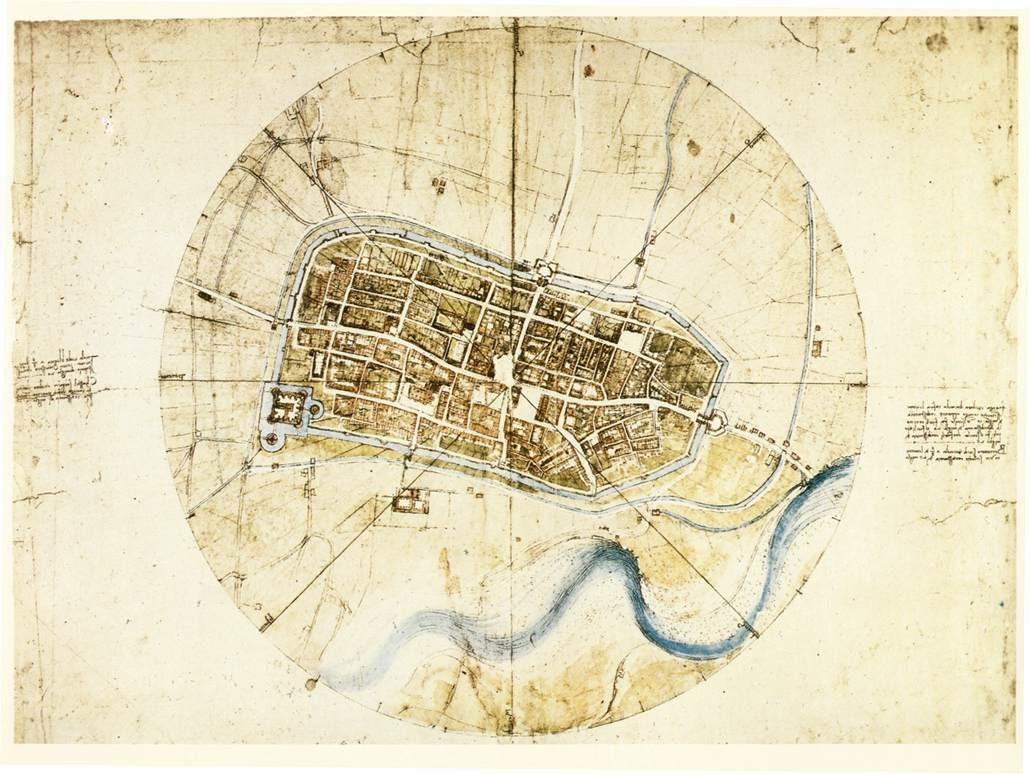 Diseños de Leonardo da Vinci