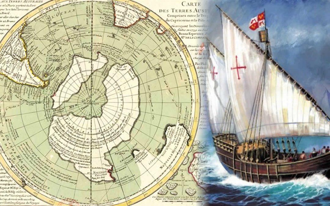 Buache, el misterioso mapa que muestra la Antártida sin hielo