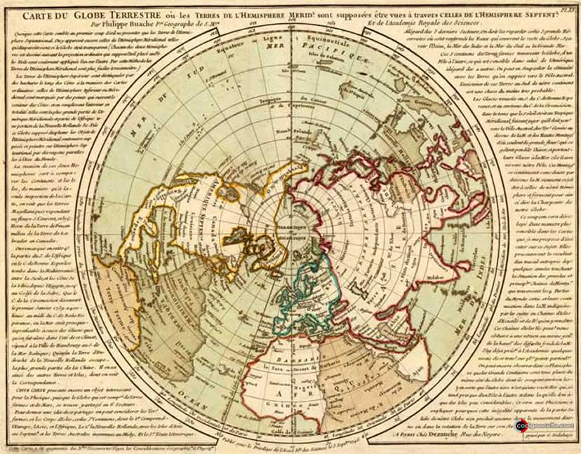 Mapa de Buache
