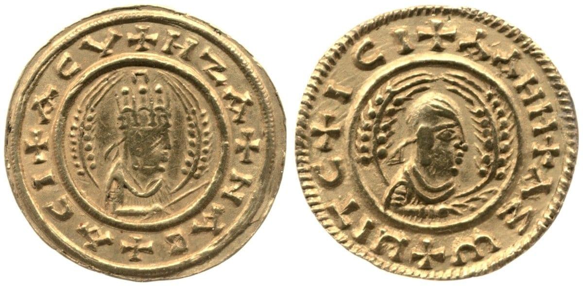 Moneda Aksumita , siglos III-IV d.C.