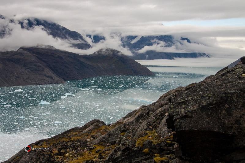 Una vista de Groenlandia