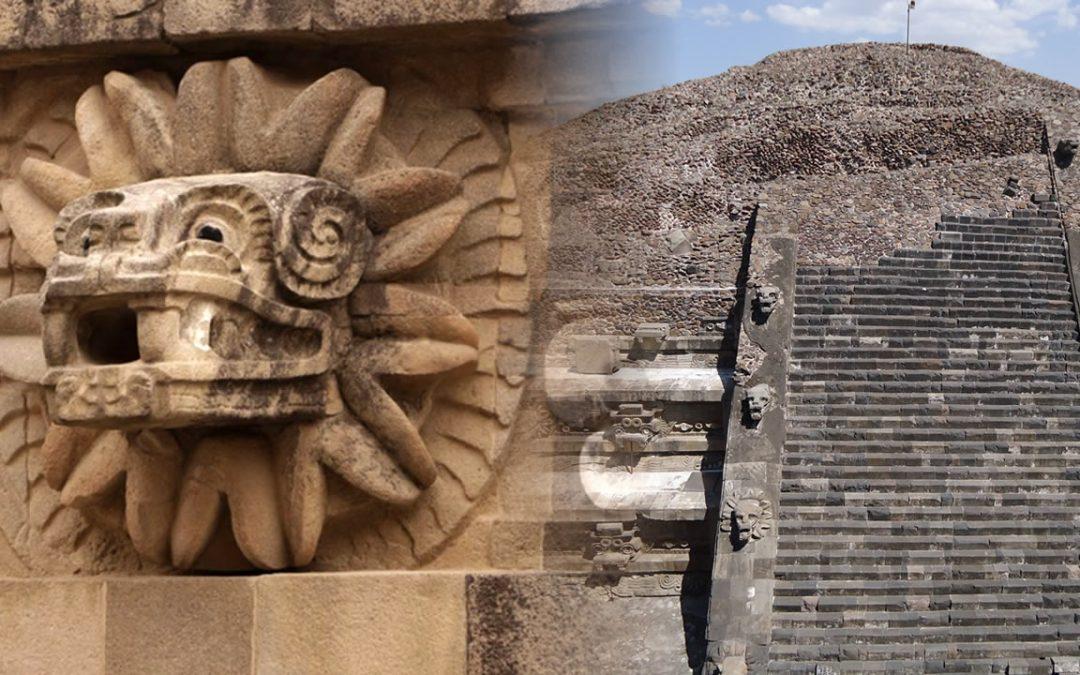 Ofrenda de 2.000 años a dios serpiente hallada bajo pirámide de Teotihuacán