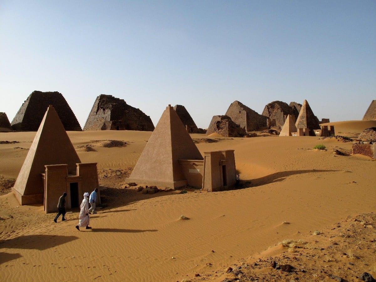 Pirámides de Kush en Meroë