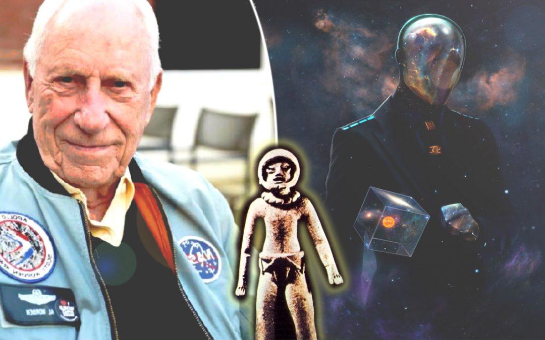 """Astronauta del Apolo XV revela que """"alienígenas"""" crearon la especie humana"""