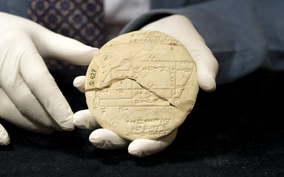 Tablilla de arcilla de 3.700 años muestra el ejemplo más antiguo conocido de geometría aplicada