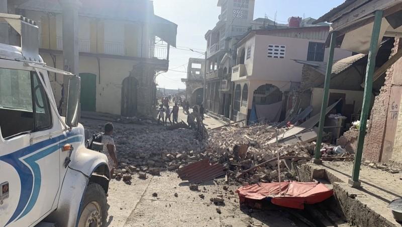 Primeros daños reportados en Haití