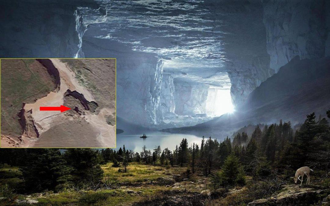 """Estudiante halla un misterioso """"agujero"""" en una ubicación remota de Reino Unido"""