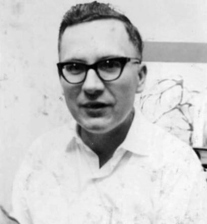 Albert K Bender. Circa 1953