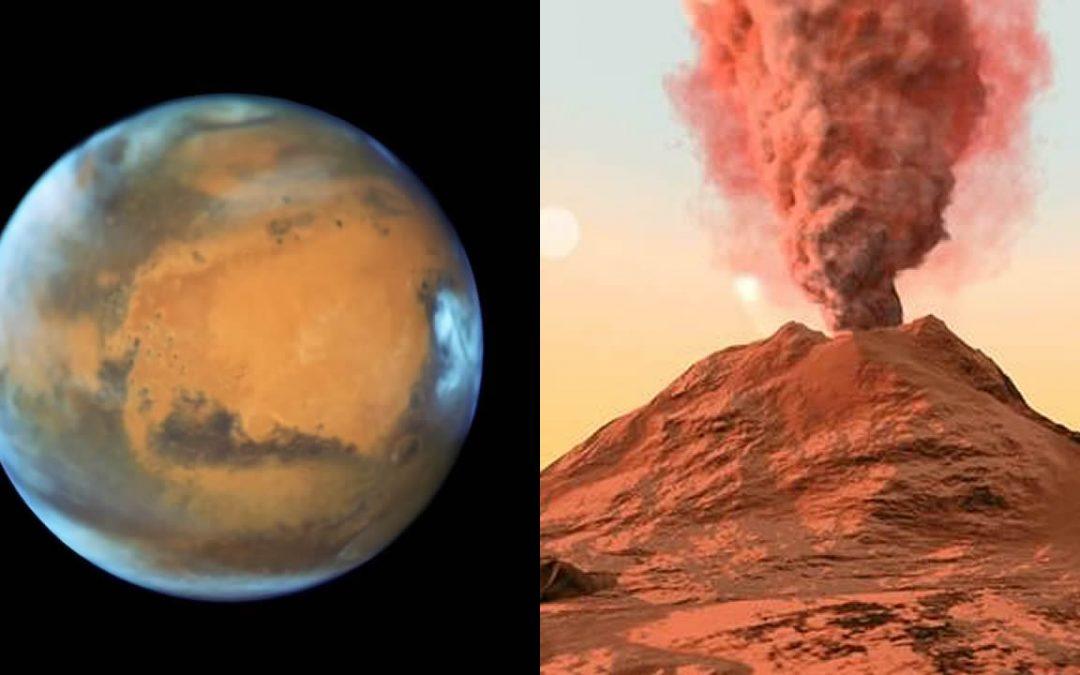 El antiguo Marte estaba repleto de miles de enormes supervolcanes