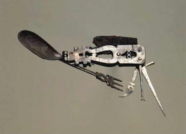 Es posible que el artefacto haya sido usado exclusivamente como una herramienta para comer