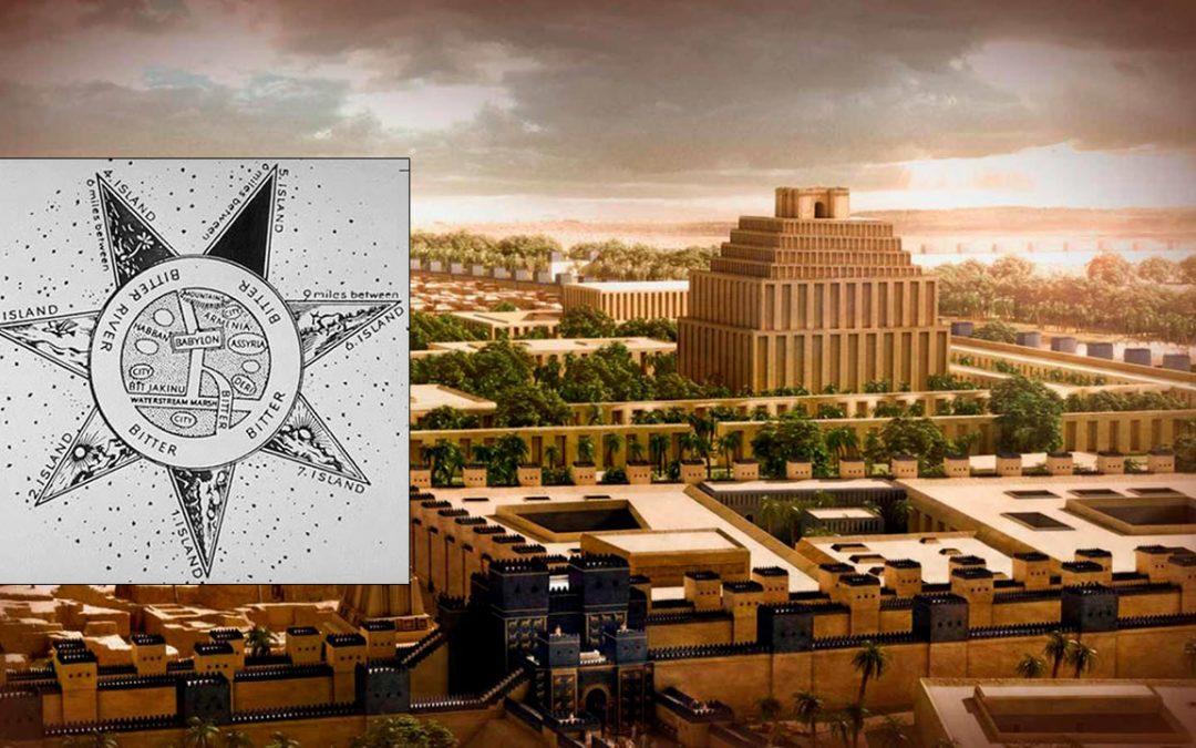 El Mapa del Mundo creado en Babilonia hace más de 2.000 años