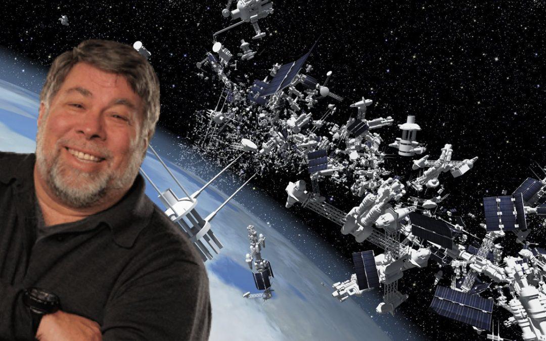 Steve Wozniak, cofundador de Apple, eliminará los desechos espaciales con una nueva compañía