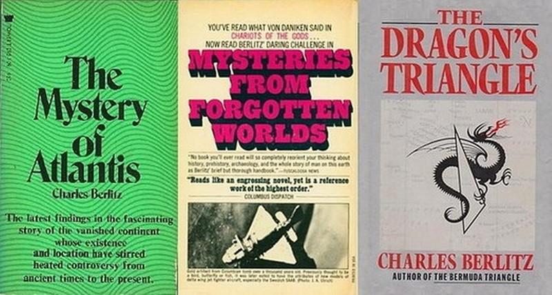 Algunos de los títulos más representativos de Charles Berlitz