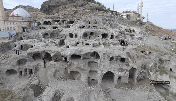 Complejo subterráneo en Turquía