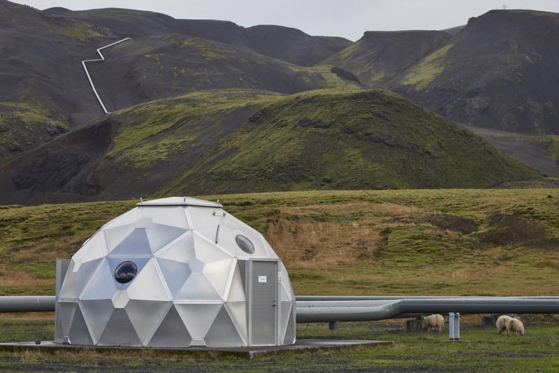 """El socio islandés Carbfix opera las cápsulas que inyectan el CO2 disuelto a gran profundidad, que se convierte en mineral o """"roca"""""""