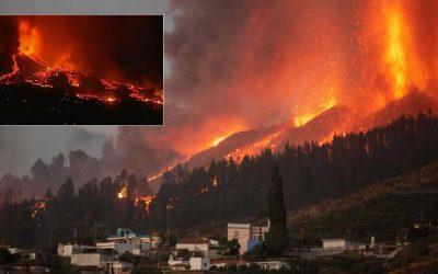 Violenta erupción de volcán en La Palma en Islas Canarias (EN VIVO)