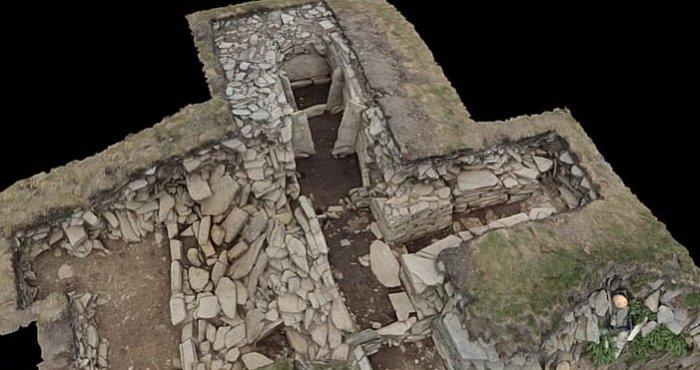 El sitio de la tumba neolítica