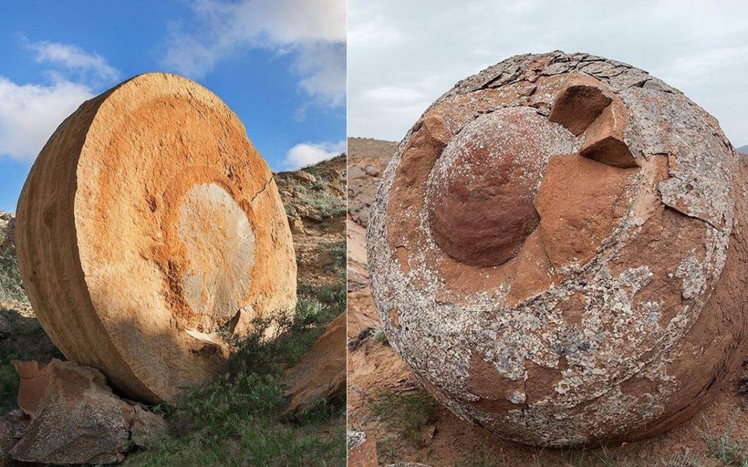 El Valle en Kazajistán que alberga enormes esferas de piedra de «millones de años»