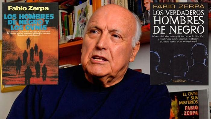 Fabio Zerpa, escritor e investigador Uruguayo y las dos obras de las que se extrajeron algunos de los casos presentados en este articulo