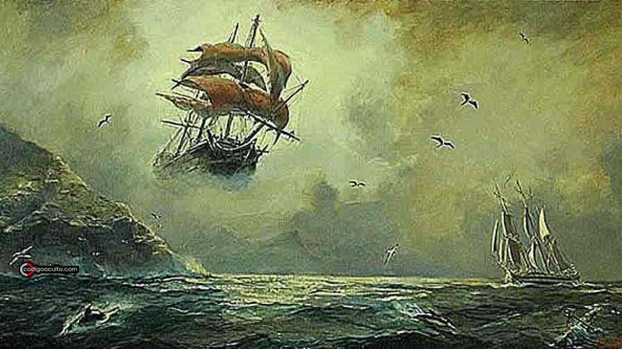 "La leyenda del barco fantasma ""Flying Dutchman"""
