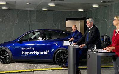 Hiperhíbrido: Investigadores alemanes convierten un automóvil Tesla en uno de hidrógeno