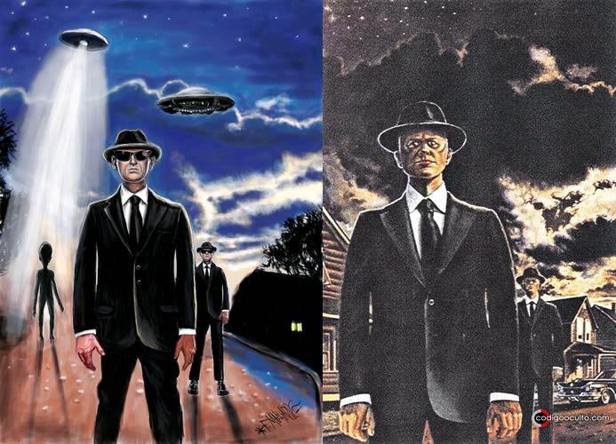 Representación de Hombres de Negro