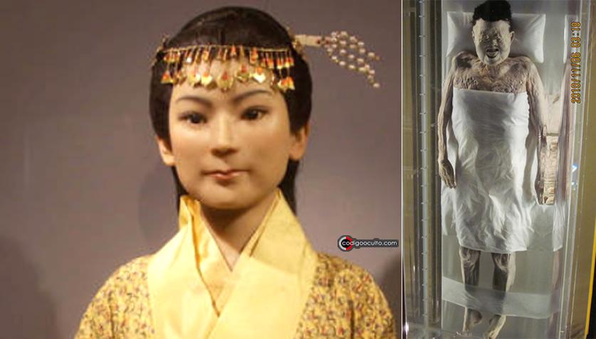 Momia mejor conservada de China