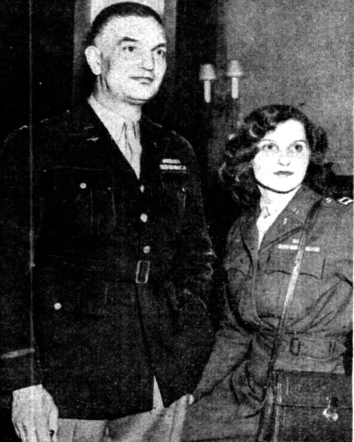 El matrimonio Huntington y Alice Bradley, que se sospecha como los verdaderos ideológos del Proyecto Serpo