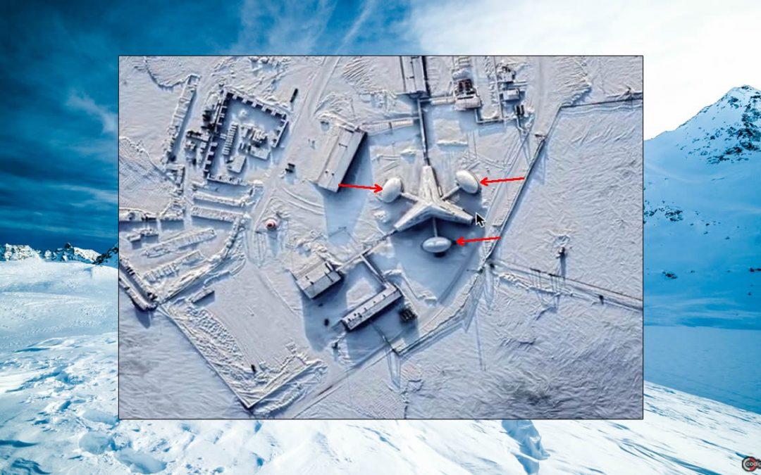"""Una """"misteriosa base"""" en el Ártico descubierta en imágenes satelitales, tiene una sencilla explicación"""