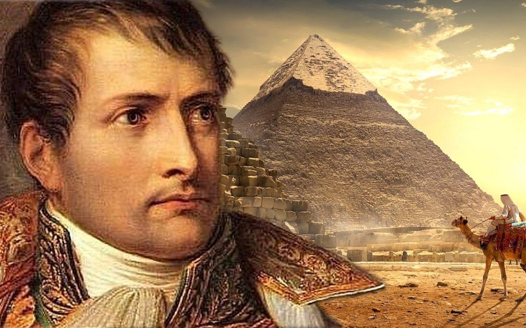"""La experiencia """"que aterró"""" a Napoleón Bonaparte dentro de la Gran Pirámide De Giza"""