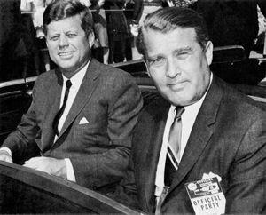 Wernher von Braun con John F. Kennedy