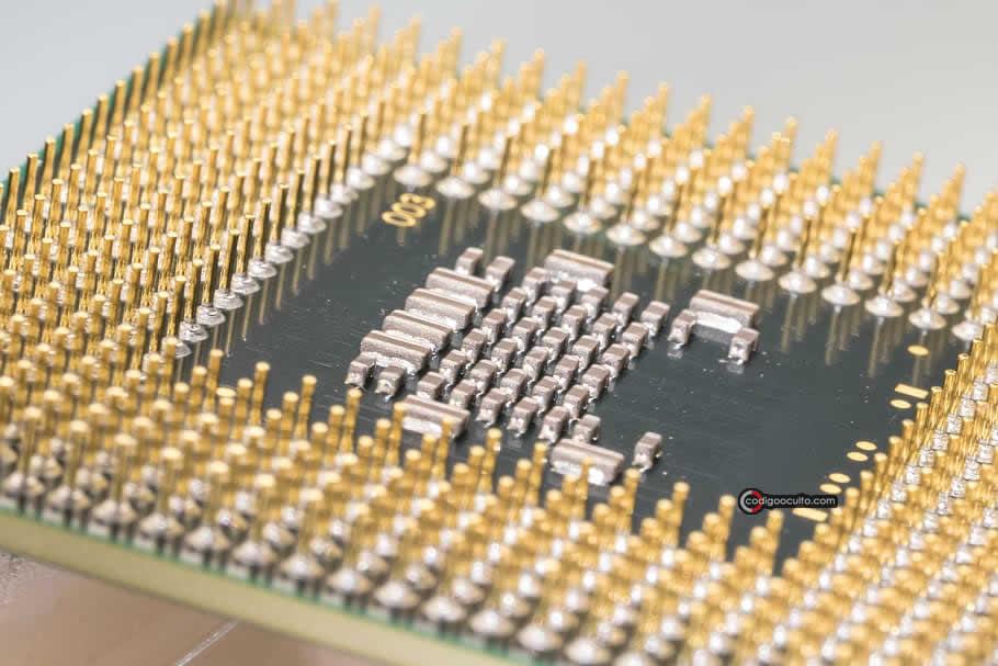 Los circuitos integrados contienen minúsculas cantidades de oro