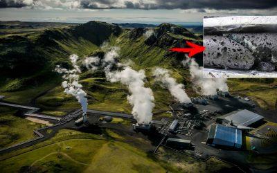 Científicos encienden máquina de captura de dióxido de carbono más grande del mundo