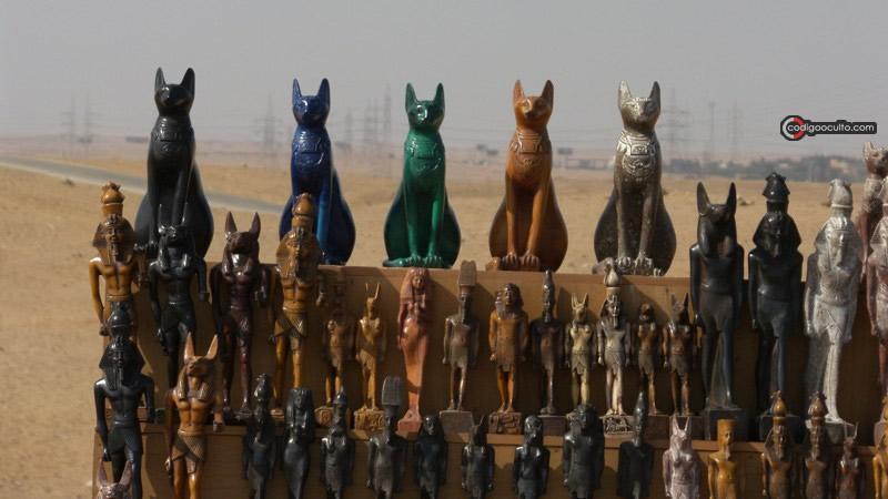 Los gatos eran sagrados en el antiguo Egipto