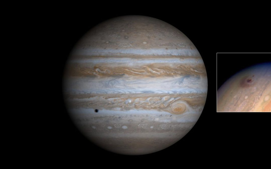 ¿Qué se estrelló contra Júpiter? Impacto en el planeta gigante