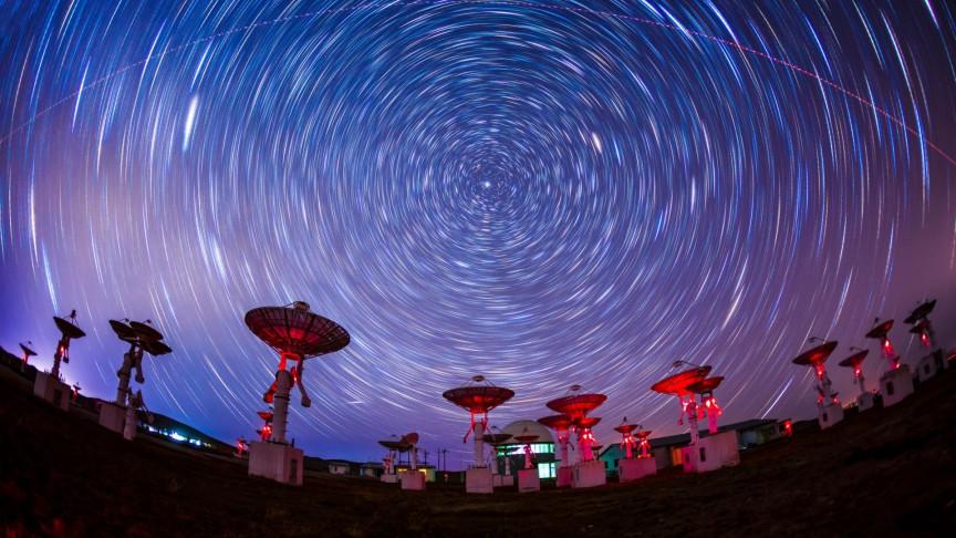 Señales de radio desde el espacio