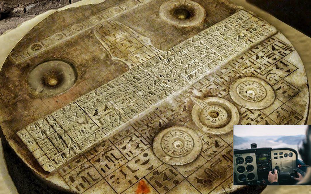 El artefacto del antiguo Egipto que se asemeja a un tablero de control