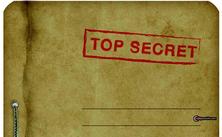 Representación de un expediente top secret
