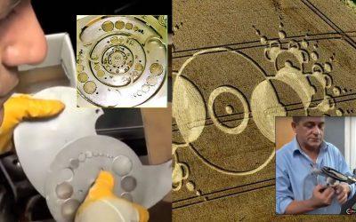 Inventor italiano utiliza crop circles para diseñar «motores de energía libre» (VIDEO)