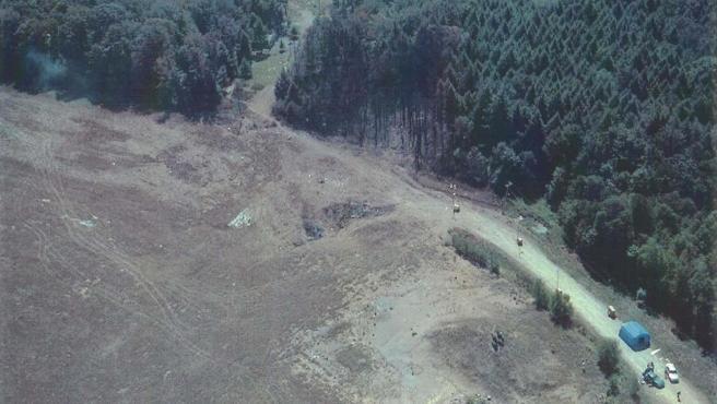 Lugar de Pensilvania donde se estrelló el vuelo 93 durante el 11S
