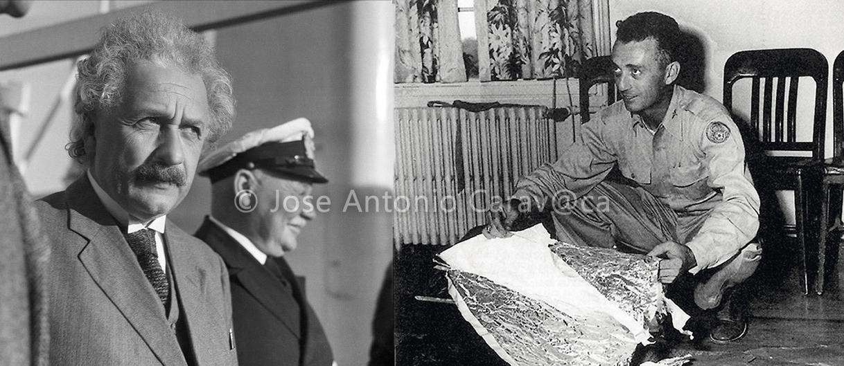 Albert Einstein habría sido un testigo del incidente de Roswell, tanto de la nave como de las entidades extraterrestres, según indica testigo