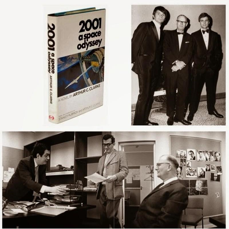 Kubrick y Clarke. Postales de una dupla que hizo historia en el cine y literatura