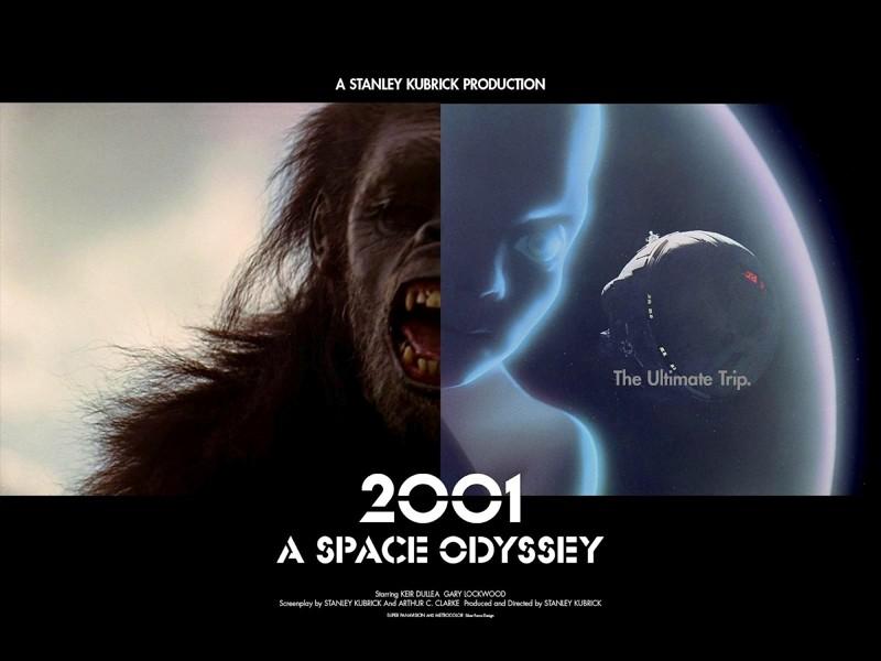 2001. Una Odisea Espacial, 1968. Redefinió el cine, encumbrando a Clarke y Kubrick en el proceso