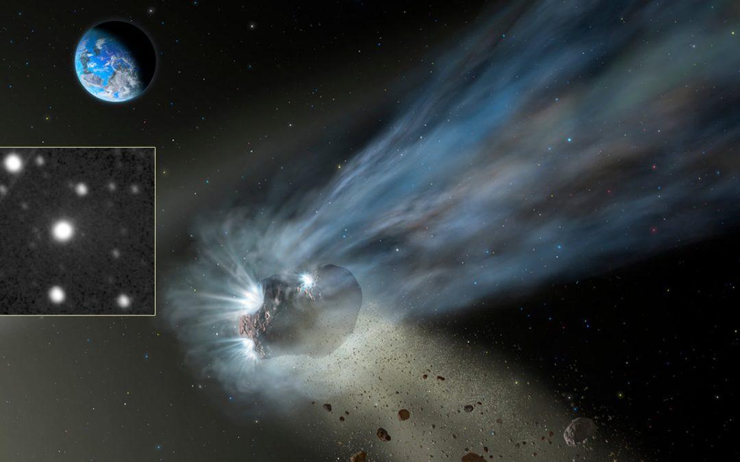 """Detectan raros fenómenos luminosos en un """"cometa"""". Uno de los objetos más extraños del Sistema Solar"""