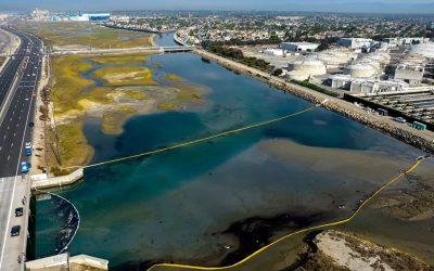 Catástrofe ambiental: enorme derrame de petróleo en sur de California