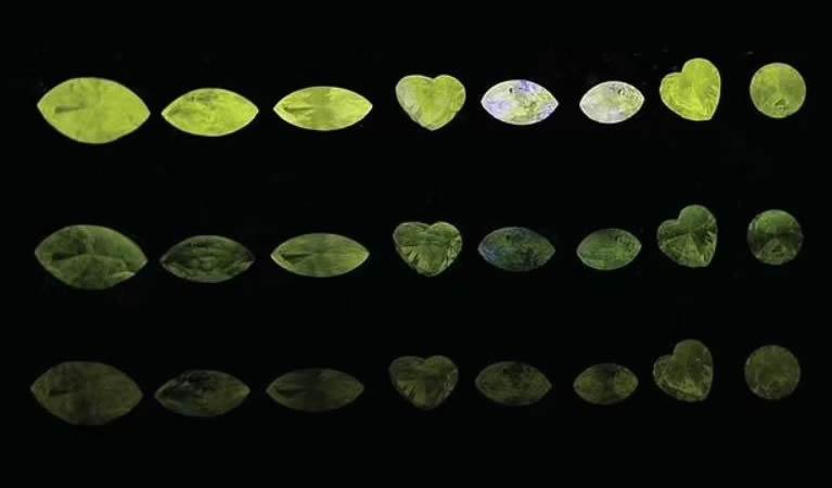 Parte del problema de la falta de conocimiento es que los diamantes camaleón (en la foto) son tan raros, lo que significa que a los investigadores les ha resultado difícil conseguir muestras para estudiar