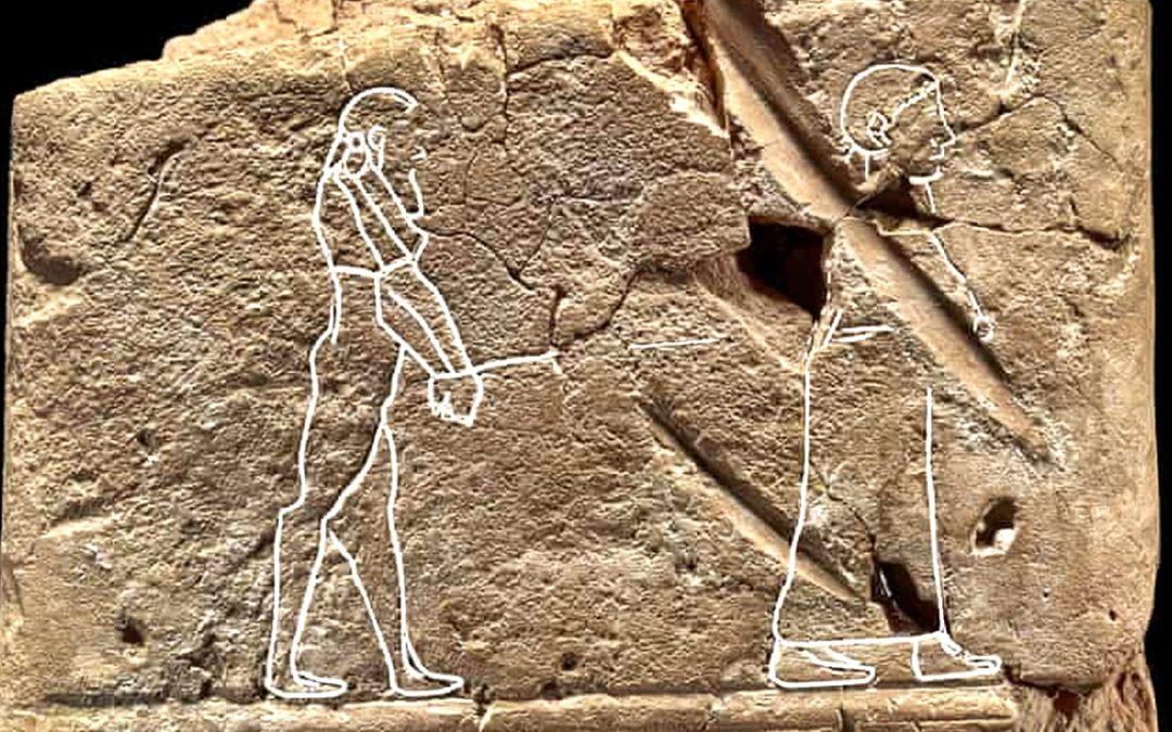 """Hallado el dibujo más antiguo de un """"fantasma"""" en una tablilla de exorcismo babilónica"""